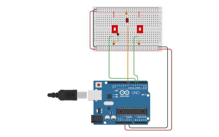 Electronics Programming using TinkerCAD and Arduino